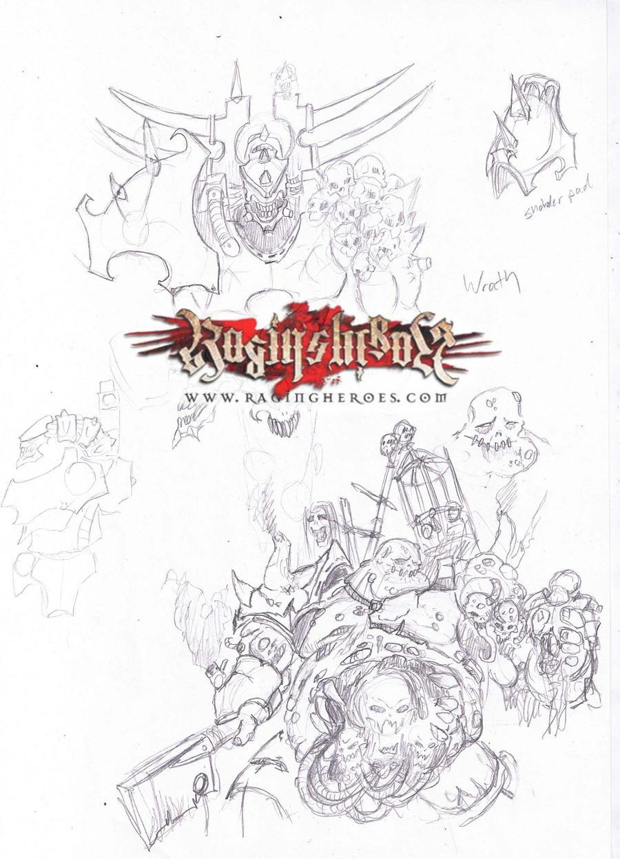 Raging Heroes Gluttony Ver 3 by razorsteel