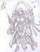 Dark Reaper Warlock by razorsteel