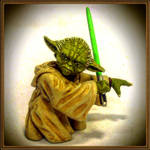 Yoda bust-up