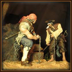 Skull Island Pirates by madnormigan