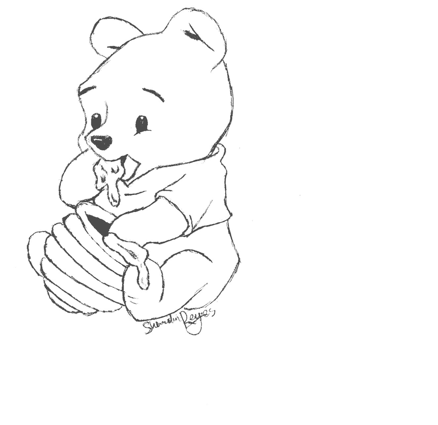 poohbear D by wtfshii on DeviantArt