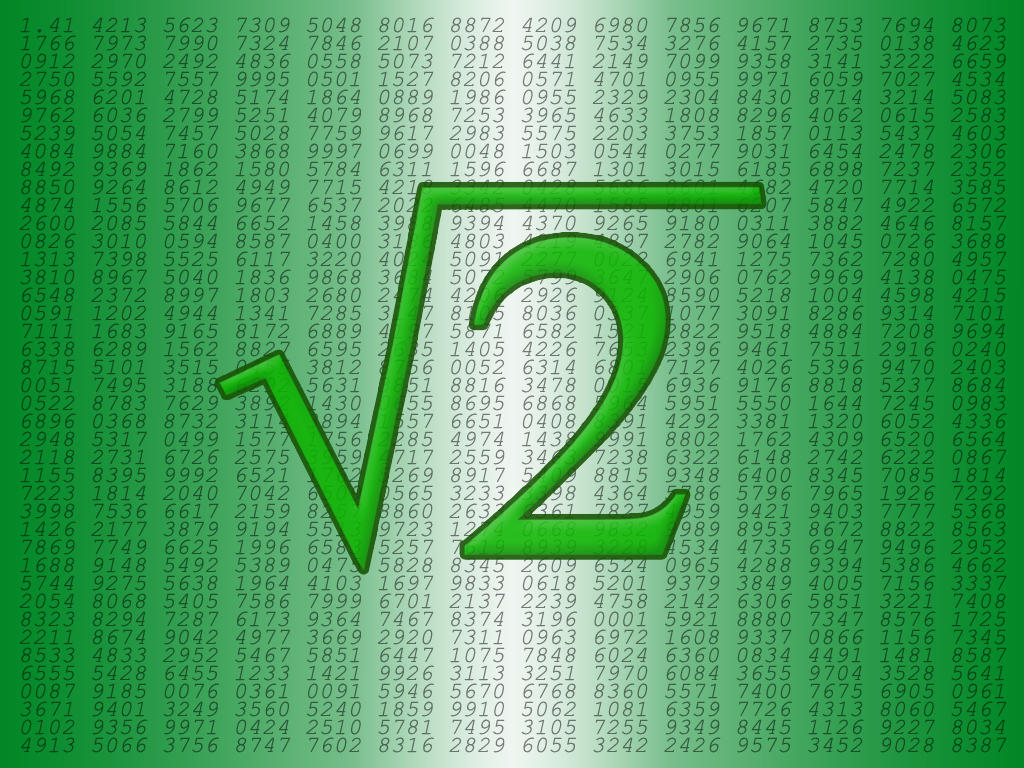 how to find square root of 2