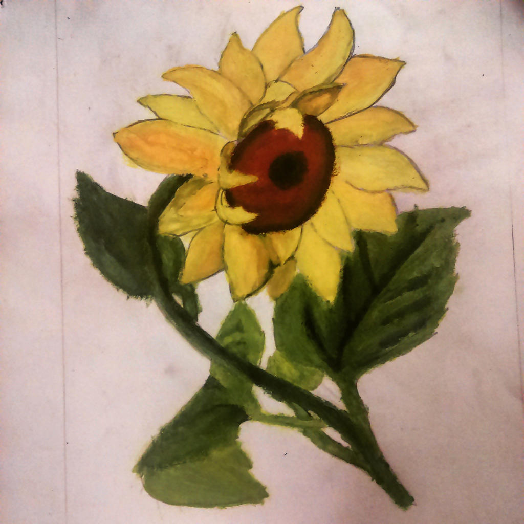 Sunflower Yellow Paint Color