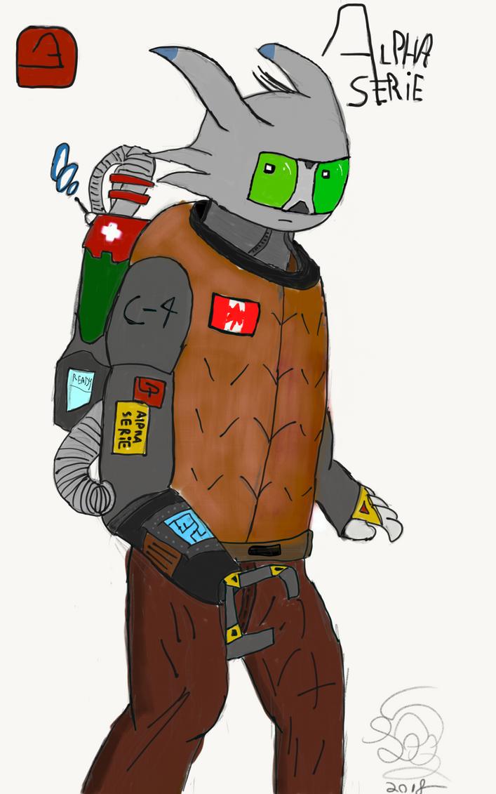 Medic Robot by ThreeDeeDeemon