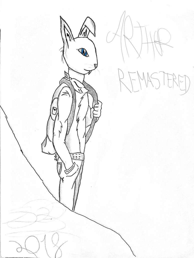Arthur-Blacklines and Sketchlines by ThreeDeeDeemon