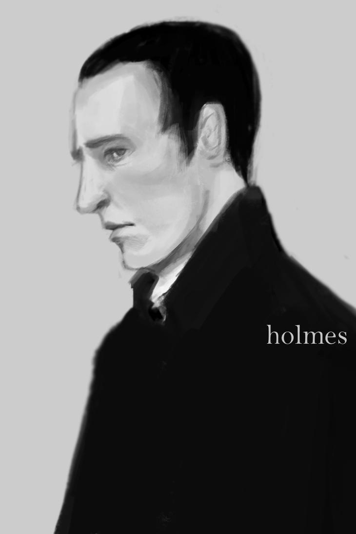 Holmes by vyxinzhe