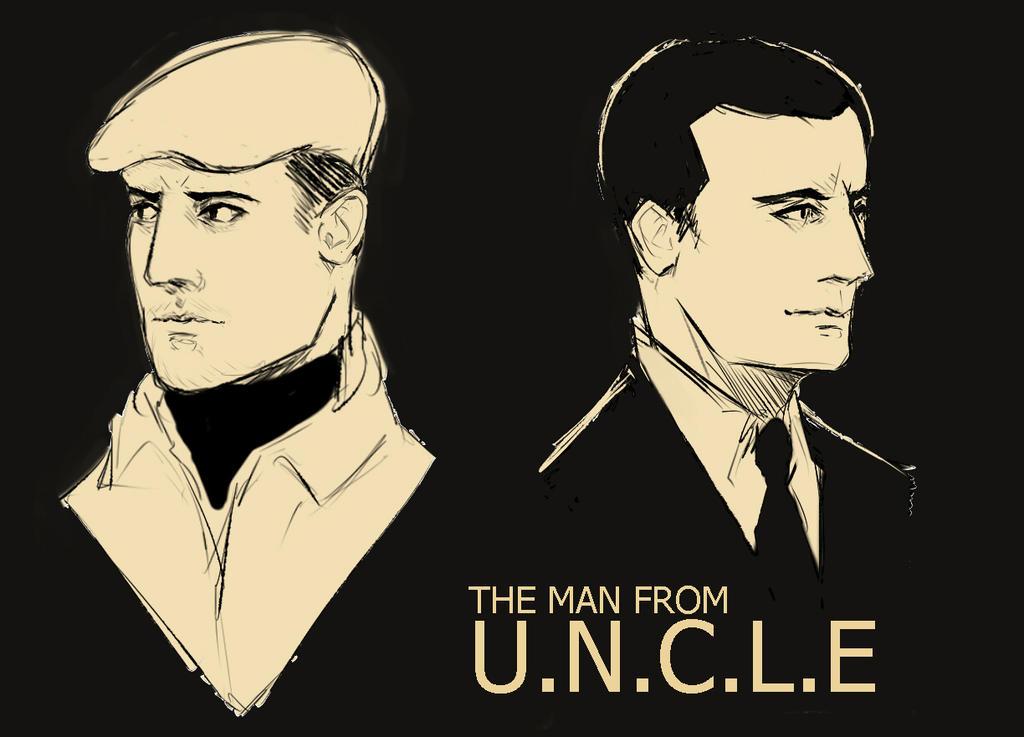 U.N.C.L.E by vyxinzhe