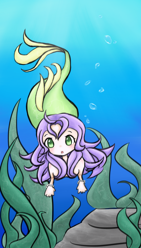 Under the Sea by BlueEmperorButterfly