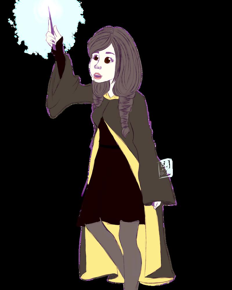 Challenge 19- as a wizard by ElleryForgot