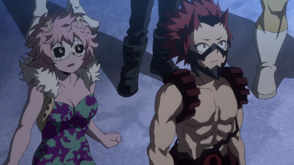 Ashido e Kirishima