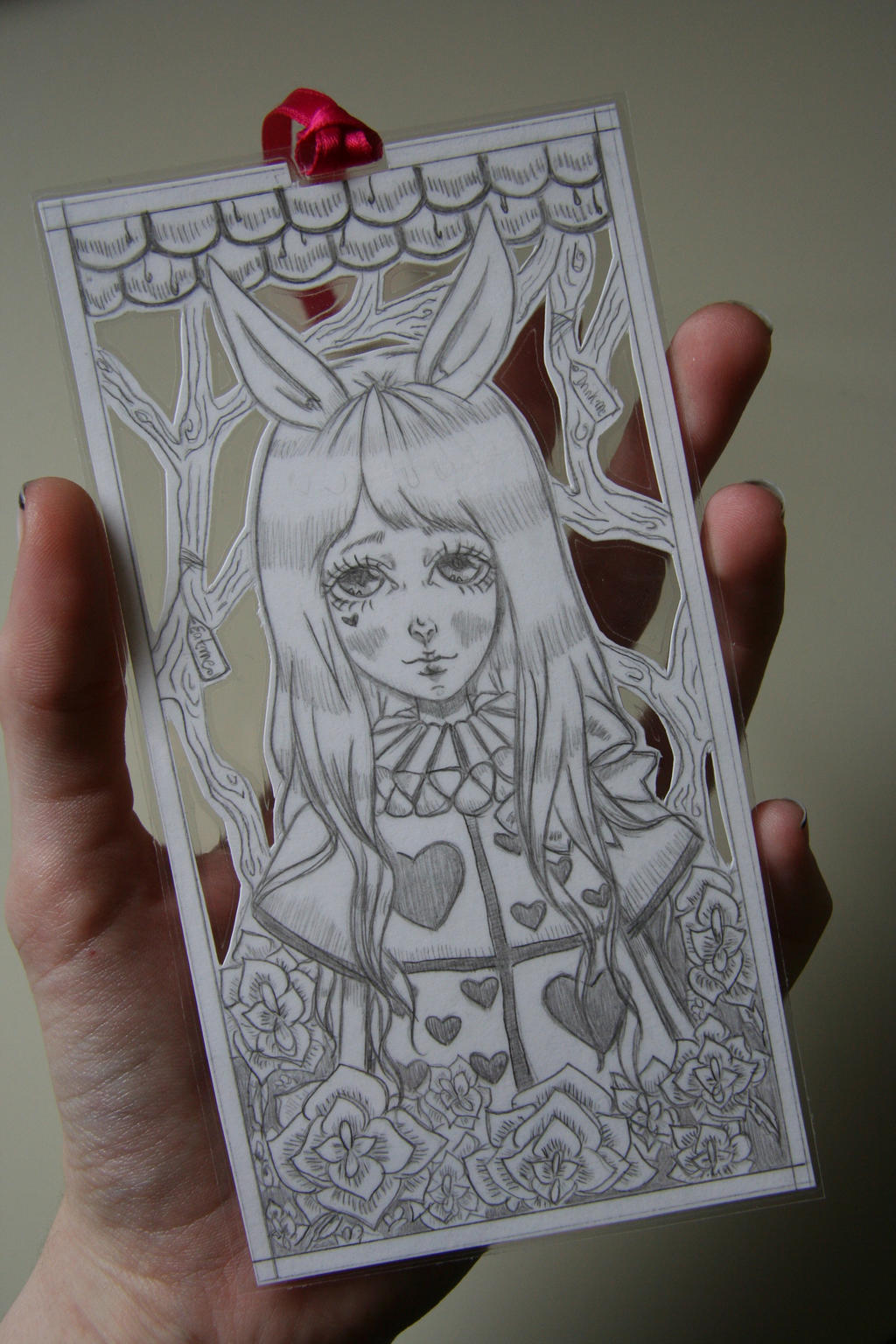 Alice x White Rabbit by xXAliceMadTeaXx