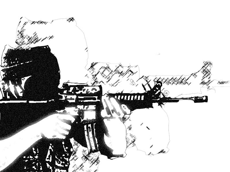 m16 gun wallpaper desktop - photo #26