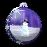 2014 Ornaments - Snowman