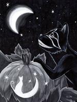 Cat-o-Lantern by Rander-MT