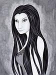 Black Silky Portrait III