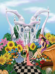 The Garden of the Wonderland - Castle of Hearts