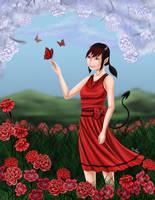 Carnation in Bloom by Rander-MT