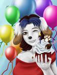 Brianna's Birthday Cupcake
