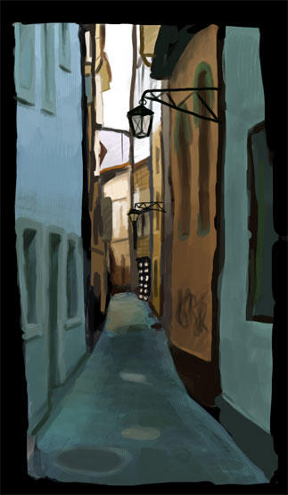 La Ruelle by Kabefis