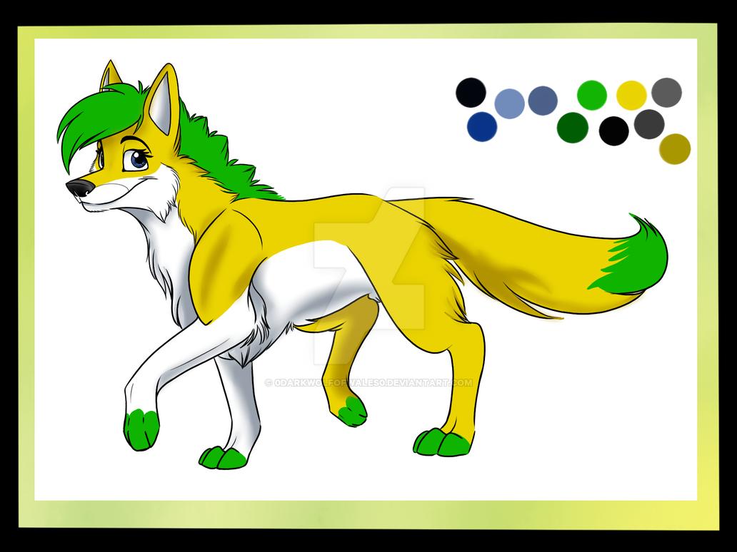 LemonFizz Colour Sheet by DarkWolfOfWales