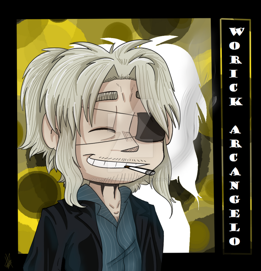 GANGSTA - Worick Arcangelo Chibi by DarkWolfOfWales
