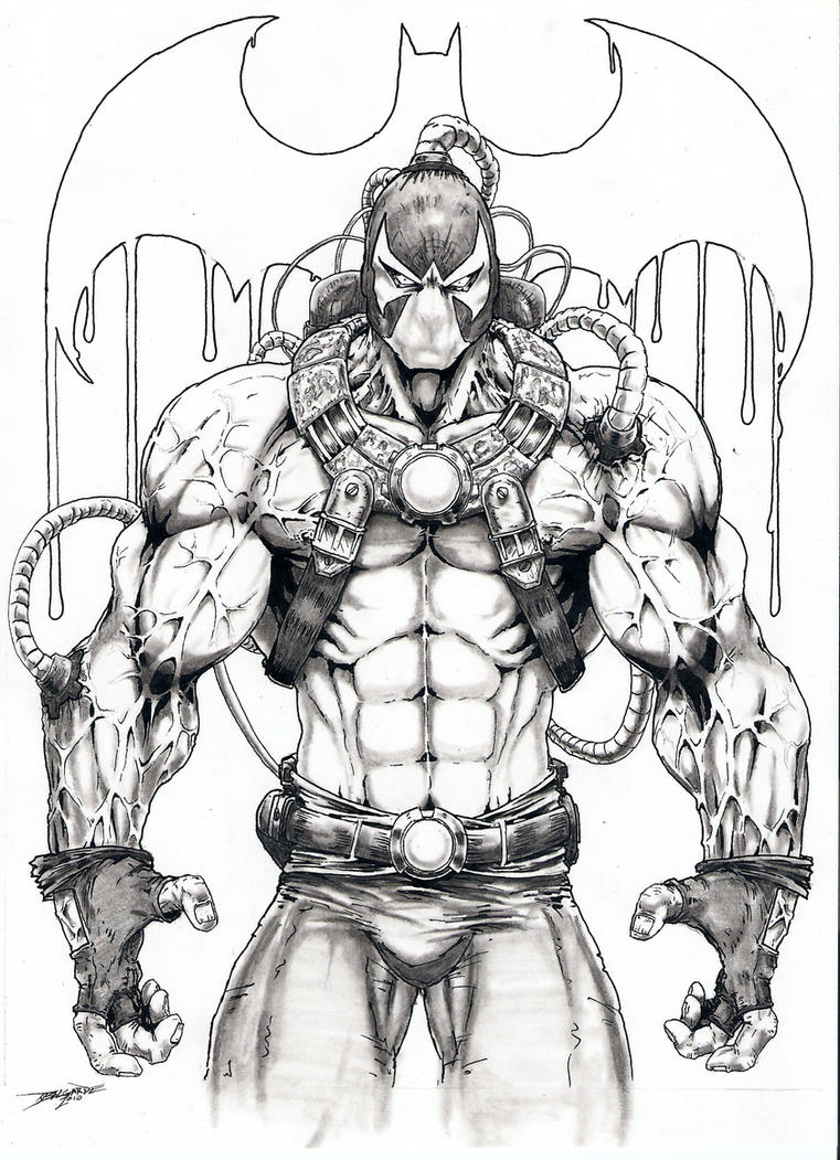 400 bad request for Bane coloring pages