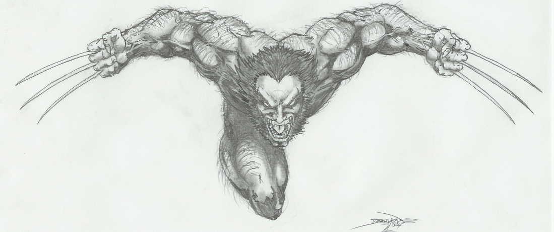 Crazed Wolvie by -vassago-