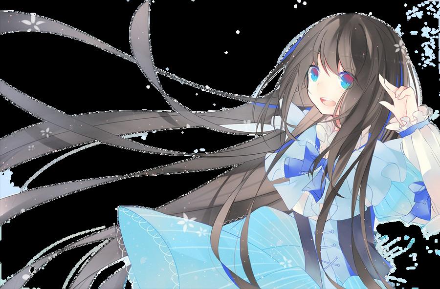 Anime Girl Render by shinichiko