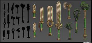 Earth weapon concept by De-Prime