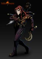 Darkest Dungeon Jester by De-Prime