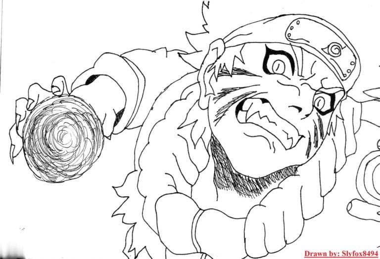 Naruto Rasengan BW by slyfox8494