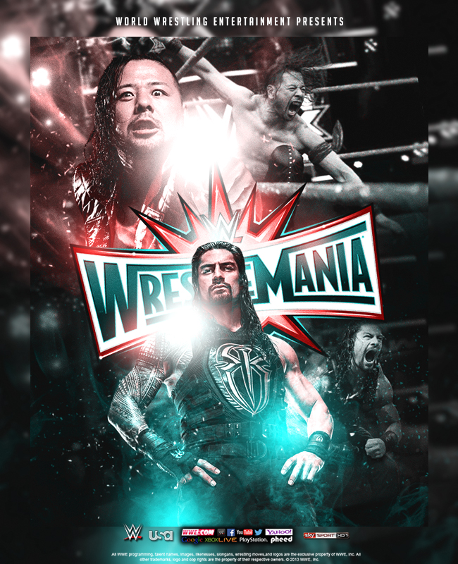 Wrestlemania 33 - Main Event by tsgraphics