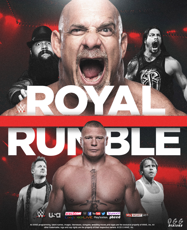 Royal Rumble 2017 by tsgraphics