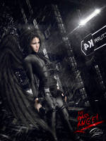The Dark Angel by awaismjad