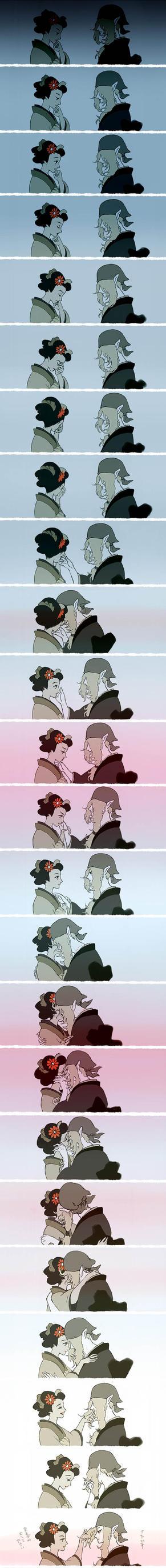 kiss by okurina