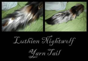 Luthien Nightwolf Yarn Tail by Ibbins