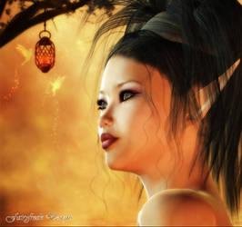 Lelu Face by fairyfreakster