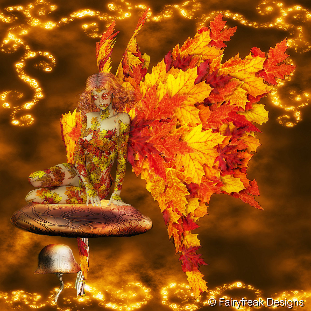 Fall Pics Wallpaper: Magic Autumn Fairy By Fairyfreakster On DeviantArt