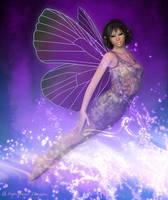 Flying Fae by fairyfreakster