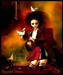 Gothy Dolly by fairyfreakster