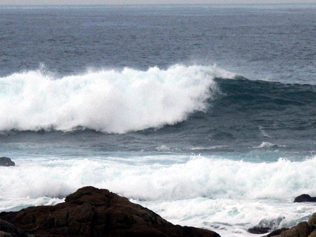 Pacific Ocean waves by moonduster on deviantART Pacific Ocean Waves