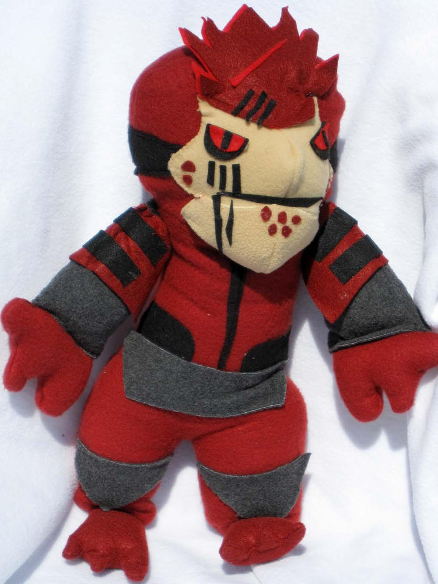 Mass Effect Wrex Plushie by ZodiacEclipse