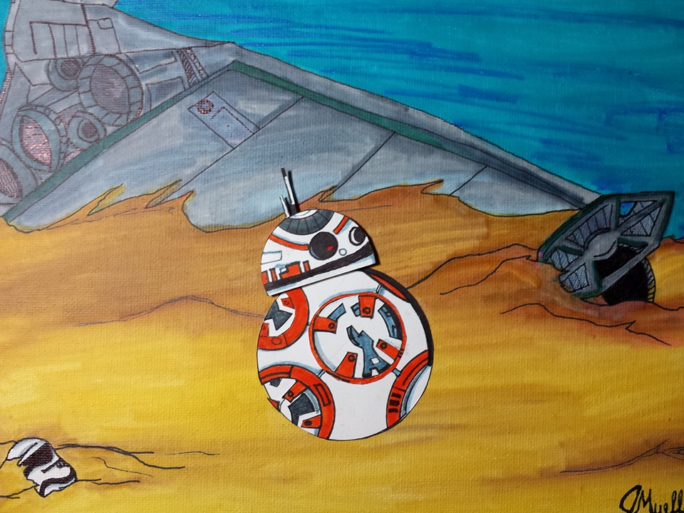 Layered BB8 by ZodiacEclipse