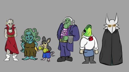 Character Cameos by ZodiacEclipse