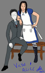 Victor and Alice by gigs83