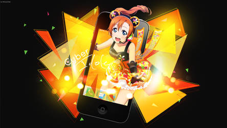 Honoka form U's Cyber Idole by Miinow-hp