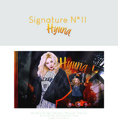 SIGN11 - Hyuna by Miinow-hp