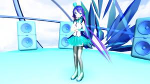MMD Newcomer Aoki Lapis V.2