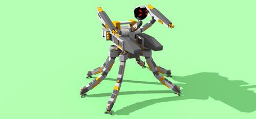 hexabot Scene 1 by Z-warriors-unite