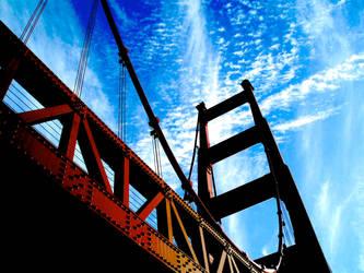 The California bridge... by Dream2theMusic